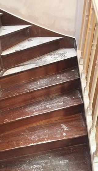 Rénovation escaliers Tourcoing